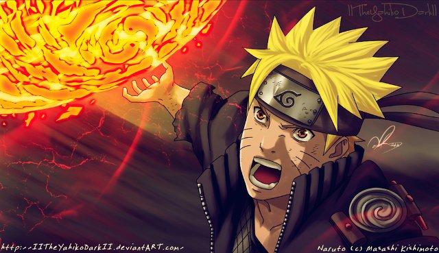 Naruto 674 Senpou-Youton Rasenshuriken