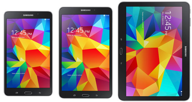 samsung galaxy tab 4 7.0 8.0 10.1 specs price release date
