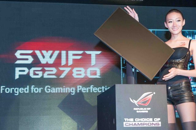 ASUS ROG PG278Q gaming monitor ready in July, 2014